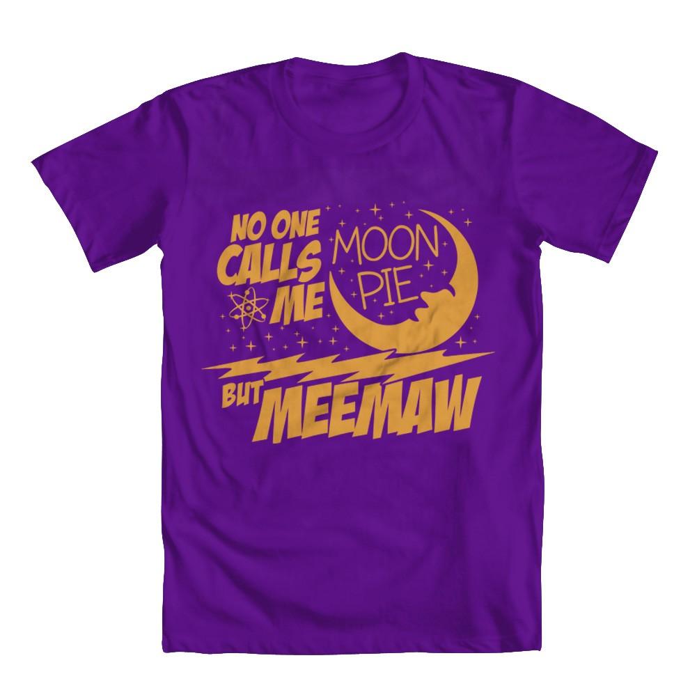 GEEK TEEZ Sheldon No One Calls Me Moon Pie Mens Hoodie